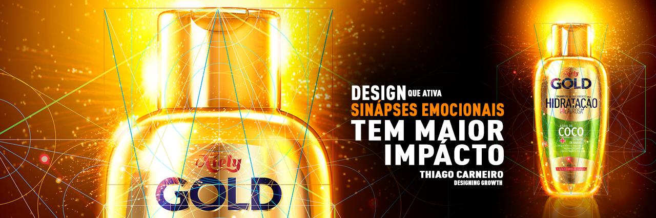 Novo DESIGN de Niely Gold Água de Coco - agência design Branding e embalagem thiago carneiro L'Oreal